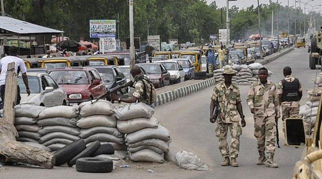 Блокпост в Майдугури. Фото AFP