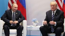Владимир Путин и Дональд Трамп. Фото EPA