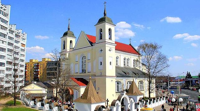 Свято-Петро-Павловский собор в Минске. Фото из архива