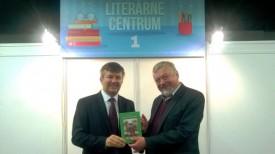 Игорь Лещеня и Мирослав Бьелик. Фото посольстве Беларуси в Словакии