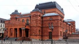 Могилевский областной драматический театр. Фото из архива