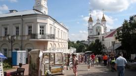 На улицах фестивального Витебска