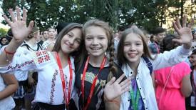 Мария Казаринова (Молдова), Мария Магильная (Беларусь) и Алана (Литва)