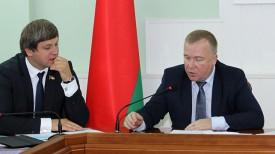 Вадим Девятовский и Александр Шамко. Фото Министерства спорта и туризма