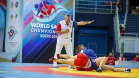 Во время чемпионата мира. Фото Всероссийской федерации самбо