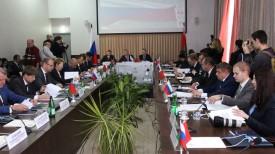 Во время заседания. Фото Министерства спорта и туризма Беларуси