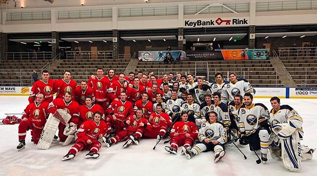 Участники матча. Фото из социальных сетей