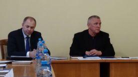 Иван Носкевич и Владимир Коноплев во время заседания. Фото БФГ