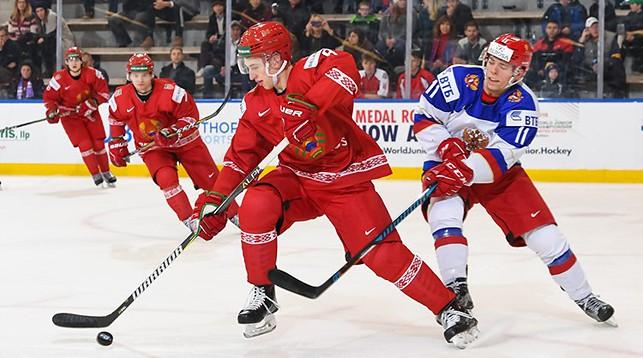 Во время матча. Фото IIHF