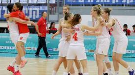Радость белорусских баскетболисток после матча. Фото ФИБА