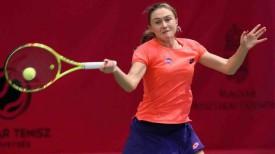 Александра Саснович. Фото Белорусской федерации тенниса