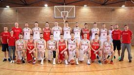 Баскетболисты национальной сборной Беларуси. Фото БФБ