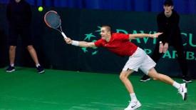Егор Герасимов. Фото Белорусской федерации тенниса