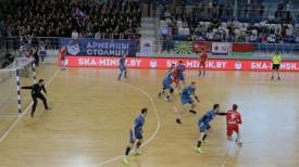 Во время матча. Фото ГК СКА