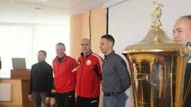 Во время жеребьевки. Фото Белорусской федерации мини-футбола