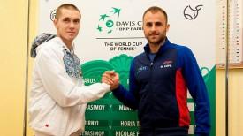 Илья Ивашко и Адриан Унгур. Фото Белорусской федерации тенниса
