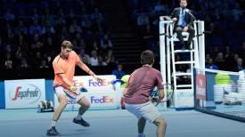 Максим Мирный и Трет Хьюи. Фото Белорусской федерации тенниса