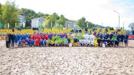 Команды-участники. Фото Белорусской федерации пляжного футбола