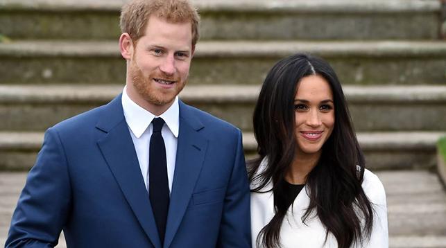 Принц Гарри и Меган Маркл. Фото AP