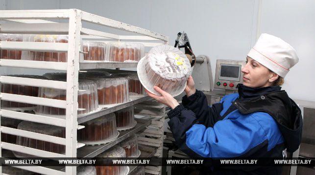 На линии глубокой заморозки хлебобулочных изделий. Фото из архива