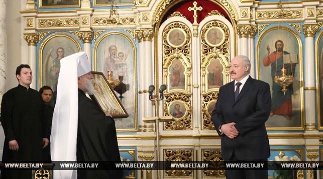 Митрополит Минский и Заславский Павел, Патриарший Экзарх всея Беларуси и Александр Лукашенко