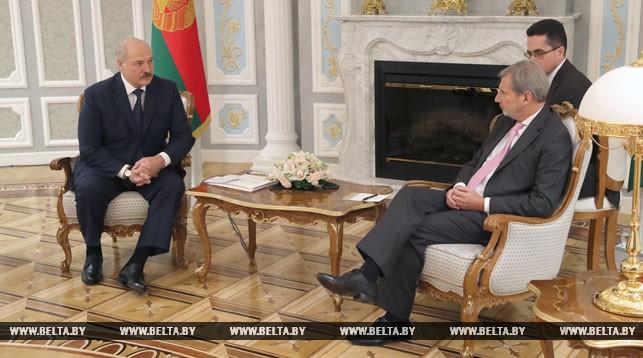 Александр Лукашенко и Йоханнес Хан