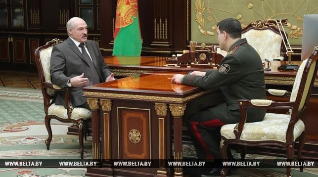 Александр Лукашенко и Валерий Вакульчик