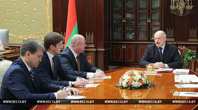 Игорь Луцкий, Иван Эйсмонт, Дмитрий Жук и Александр Лукашенко