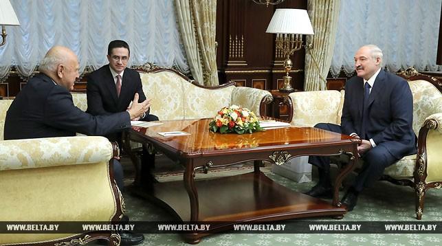 Янез Кочианчич и Александр Лукашенко