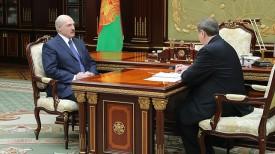 Александр Лукашенко и Михаил Русый