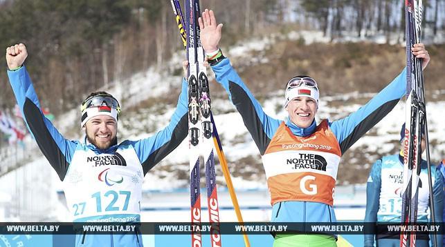 Юрий Голуб и Дмитрий Будилович. Фото AP - БЕЛТА