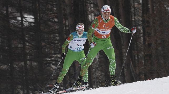 Светлана Сахоненко и Роман Ященко. Фото AP - БЕЛТА