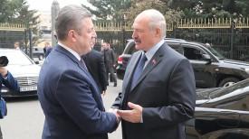 Георгий Квирикашвили и Александр Лукашенко