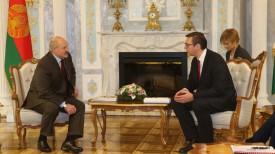 Александр Лукашенко и Александр Вучич. Фото из архива