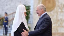 Патриарх Кирилл и Александр Лукашенко. Фото из архива