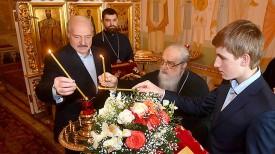 Александр Лукашенко и митрополит Филарет