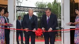 Александр Лукашенко и Эмомали Рахмон