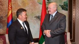 Халтмагийн Баттулга и Александр Лукашенко