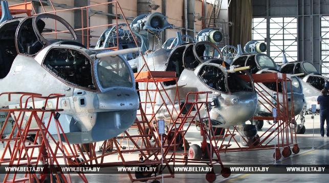 На Оршанском авиаремонтном заводе