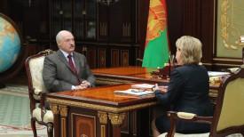 Александр Лукашенко и Марианна Щеткина