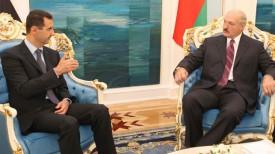 Башар Асад и Александр Лукашенко. Фото из архива