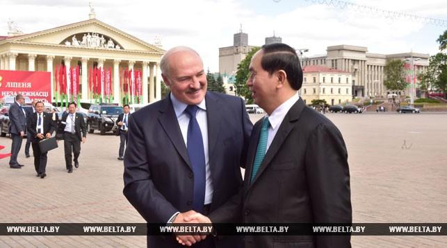 Александр Лукашенко и Чан Дай Куанг. Фото из архива