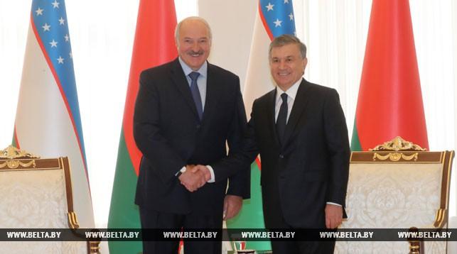 Александр Лукашенко и Шавкат Мирзиеев