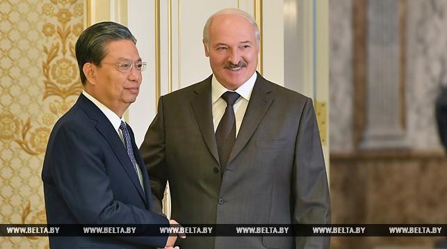 Чжао Лэцзи и Александр Лукашенко