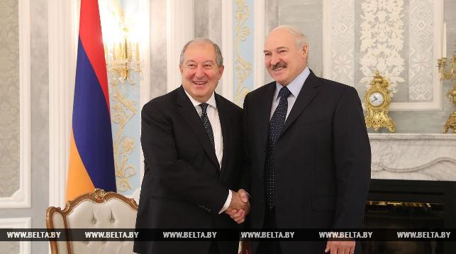 Армен Саркисян и Александр Лукашенко