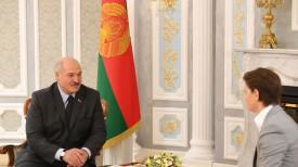 Александр Лукашенко и Ана Брнабич