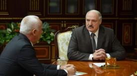Анатолий Сивак и Александр Лукашенко