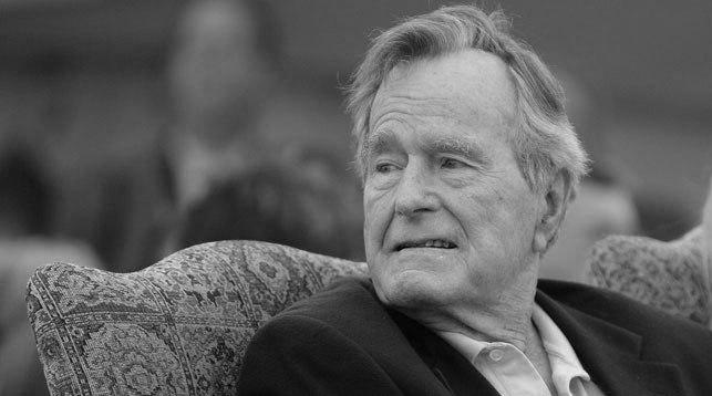 Джордж Буш - старший. Фото AP