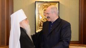 Александр Лукашенко и Митрополит Филарет. Фото из архива