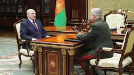 Александр Лукашенко и Станислав Зась